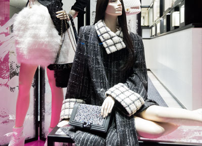 Photo report Milan shopping windows