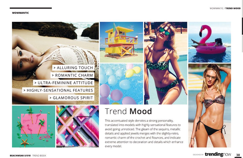 Fashion trend book and trend forecasting